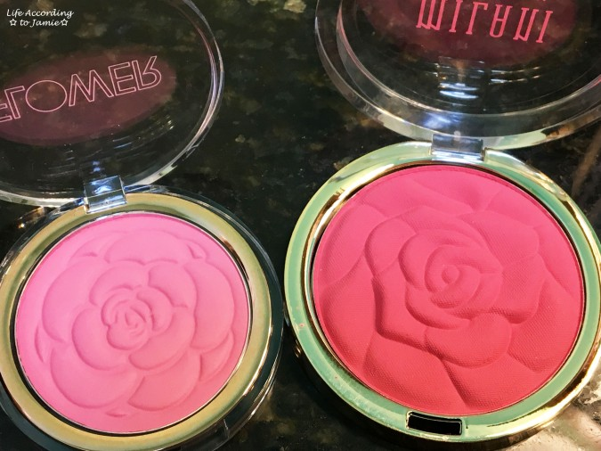 Flower Beauty & Milani Blush 1