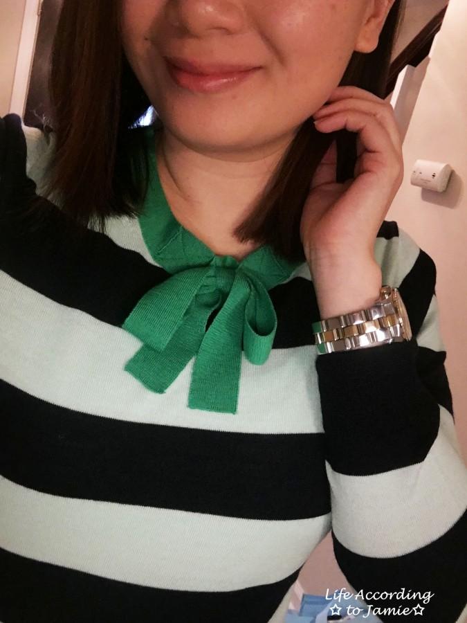 Mint + Navy Neck Tie Shirt 2
