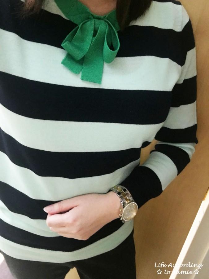 Mint + Navy Neck Tie Shirt 3