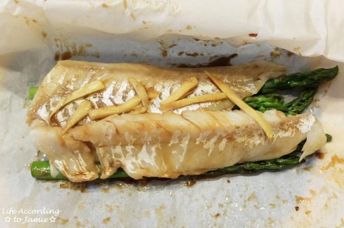 Parceled Cod + Asparagus 4
