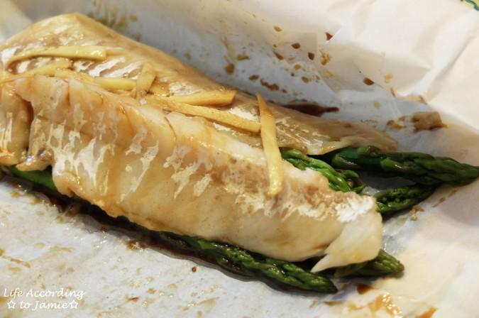 Parceled Cod + Asparagus 5
