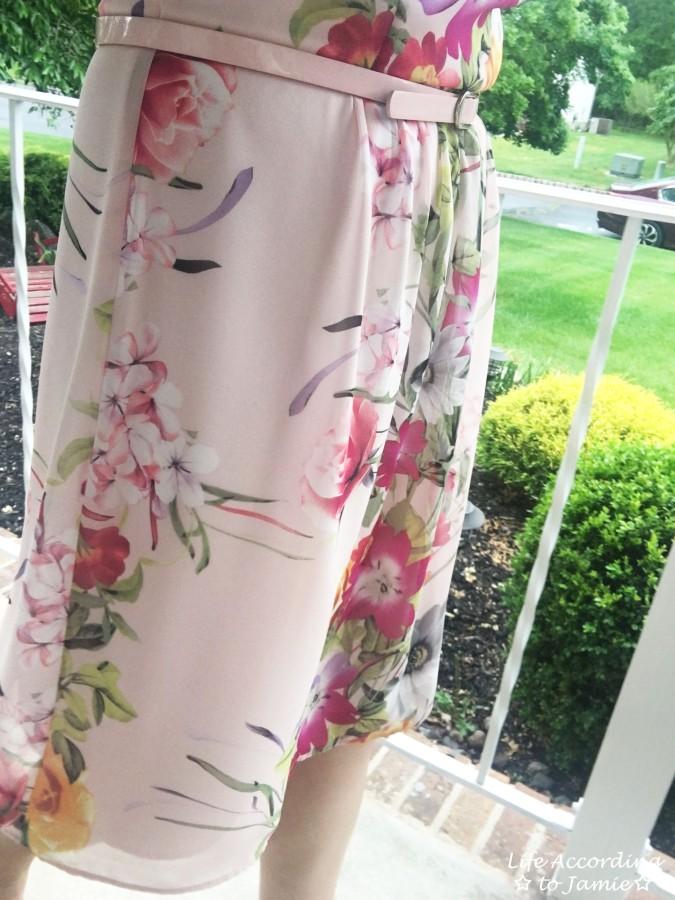 Soft Pink Floral Dress 9