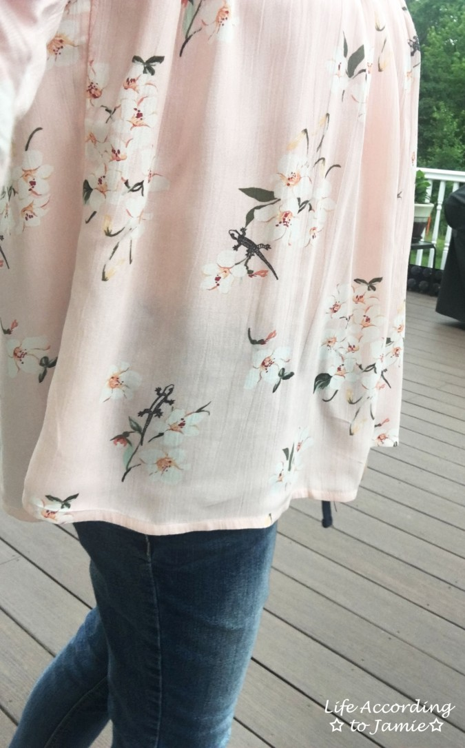 Pink Floral OTS 11