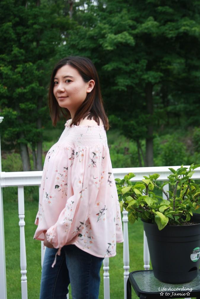 Pink Floral OTS 4