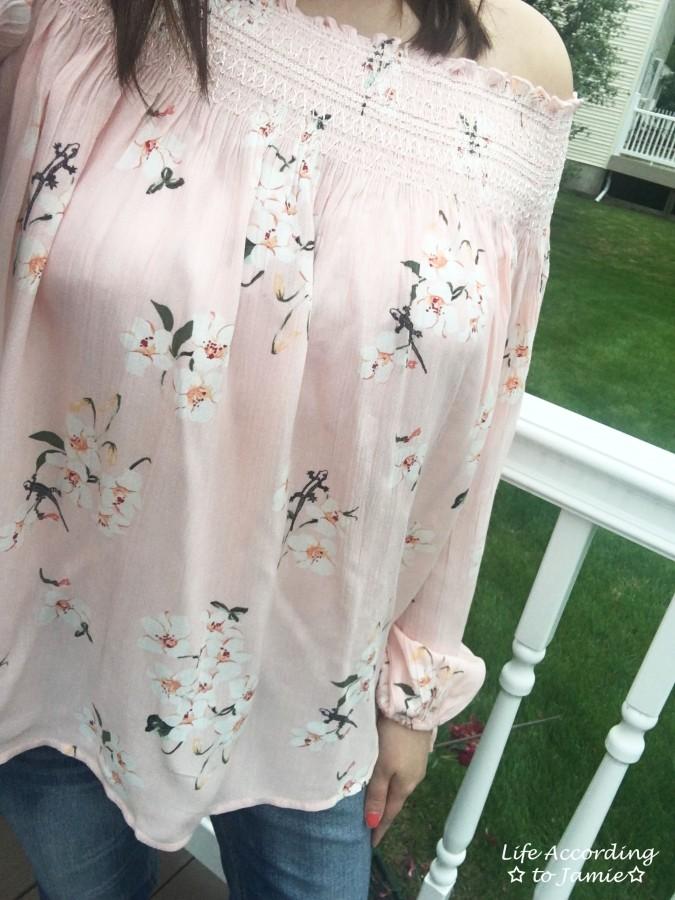 Pink Floral OTS 9