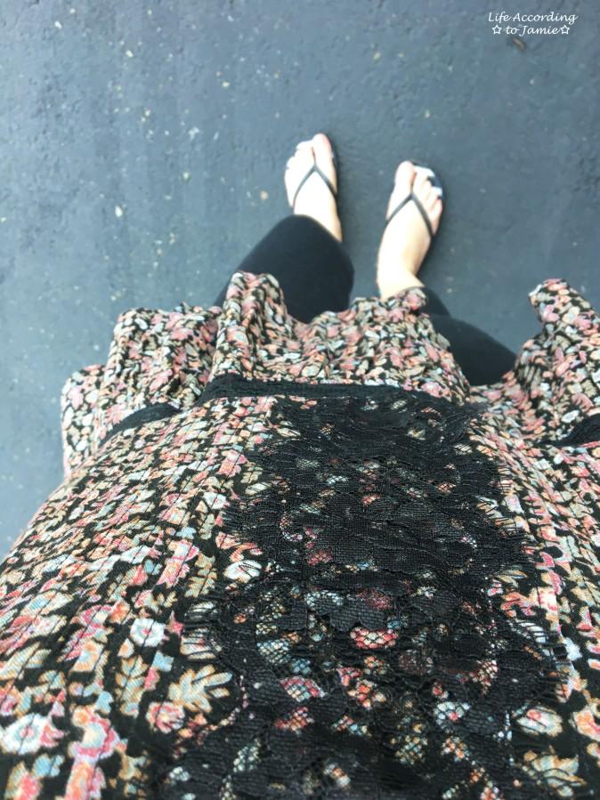 Floral + Lace Cami