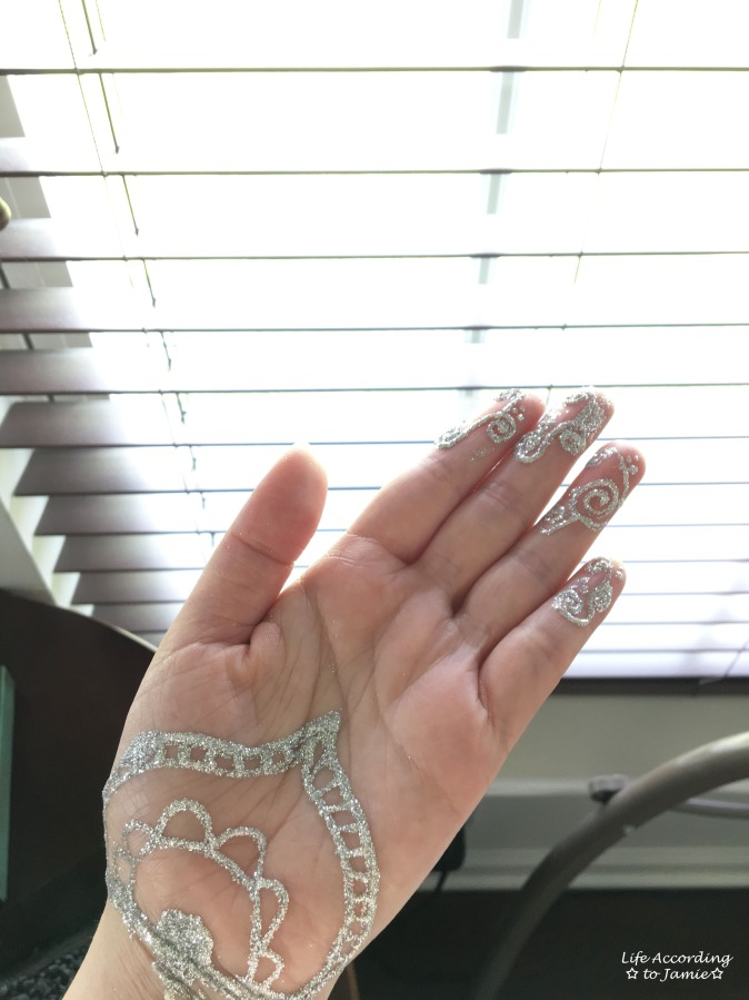 Earth Henna - White Lace 5