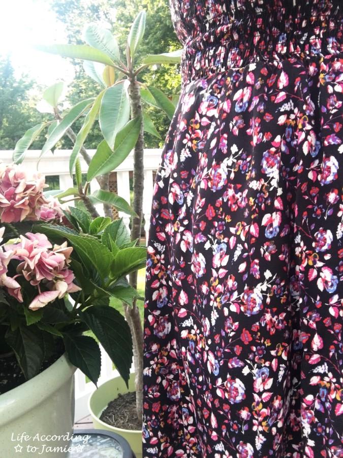 Smocked Floral OTS Dress 10
